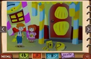 Hansel et Gretel Application iPhone iPad So Ouat Chocolapps 3