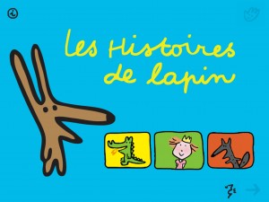 Les 3 histoires de lapin Europa Apps application iPhone iPad enfant tablette La Souris Grise 1