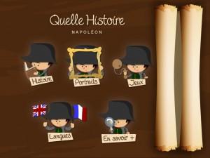 Quelle Histoire Application iPad Napoléon 1
