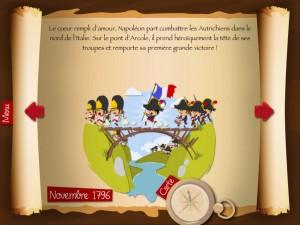 Quelle Histoire Application iPad Napoléon 2