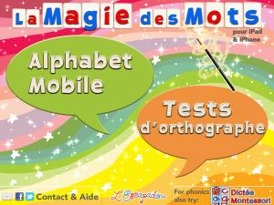 La magie des mots L'Escapadou Appli iPhone iPad 2