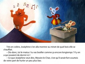 La souris Joséphine Gentil Martien Appli iPad iPhone 2
