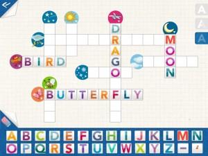 MotsFléchésAnglais KidschoolApp iPad 4