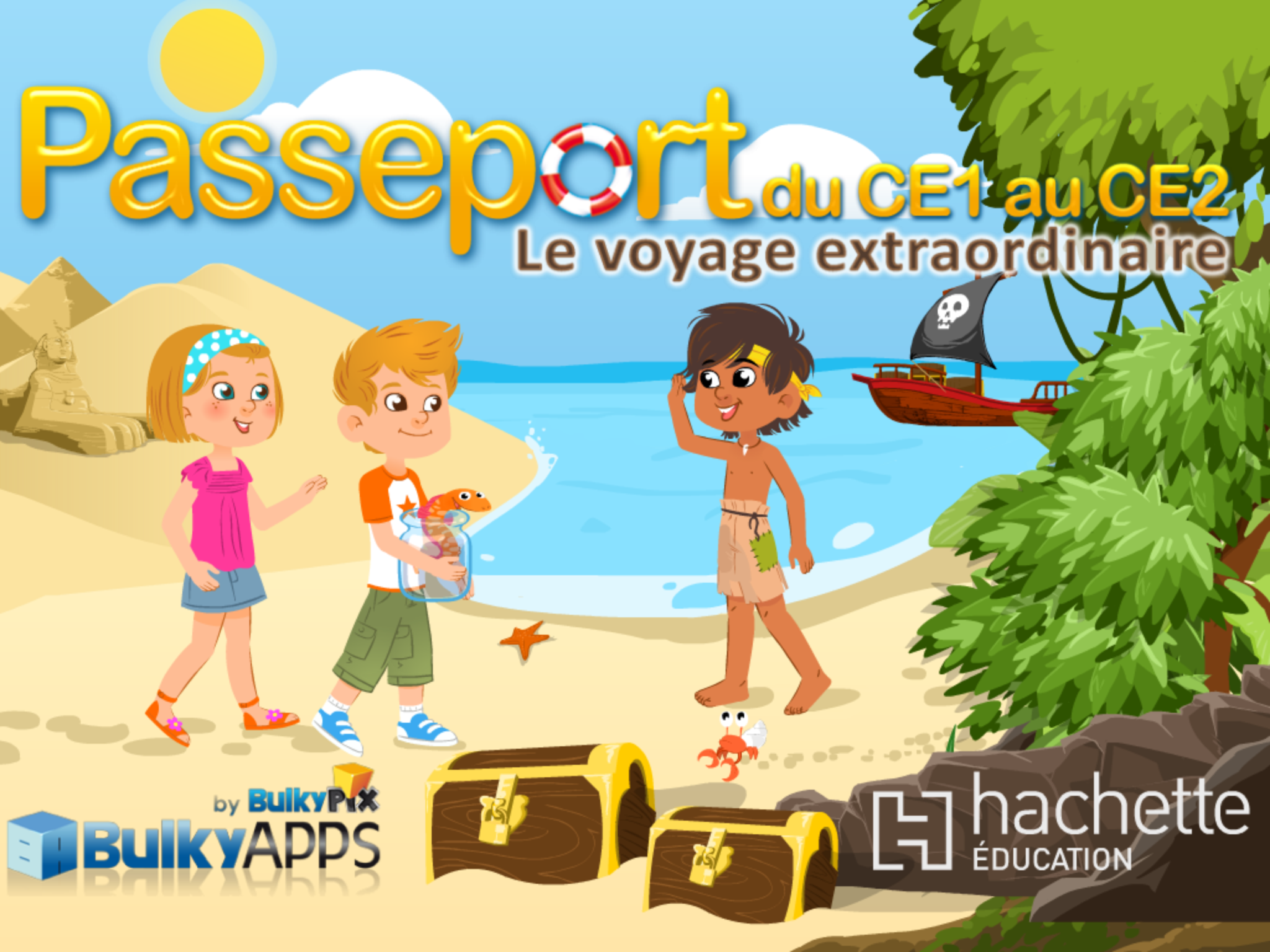 Passeport Hachette application iPhone iPad 1