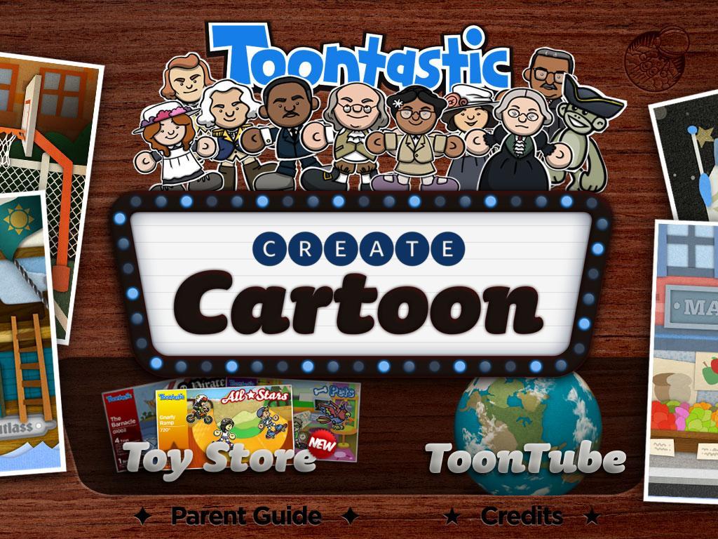 Toontastic appli iPad Launchpad Toys 1