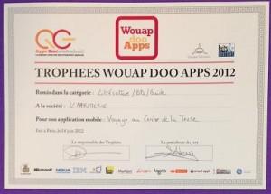 Lauréats Wouap Doo Apps 2012