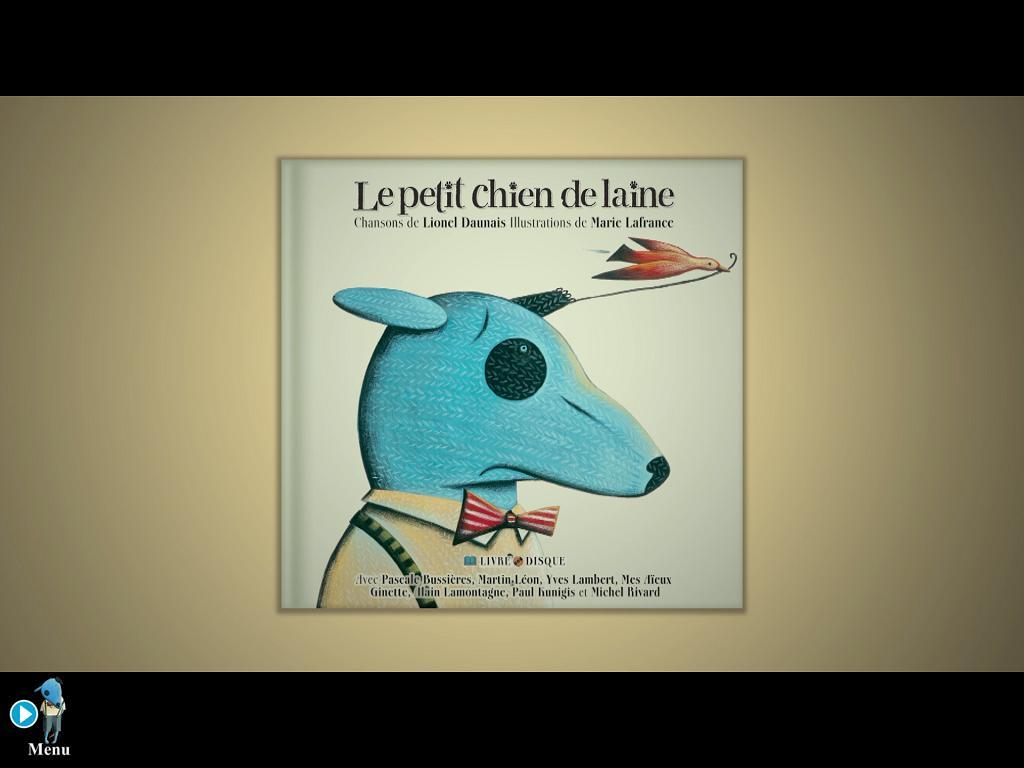 Le petit chien de laine iPad La montagne secrète 1