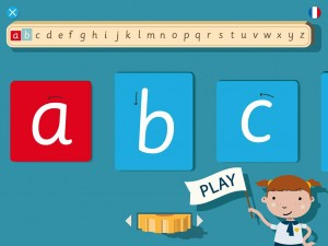 LetterSounds Son des Lettres 3 Elles Interactive Appli iPad Montessori 5