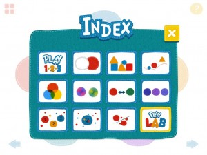 Play 123 CJ Educations appli iPad 1