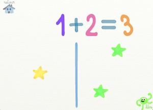 10 doigts Marbotic appli iPad chiffres 3
