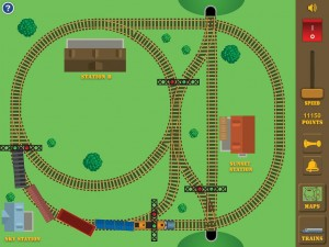 Build a train appli iPad 2