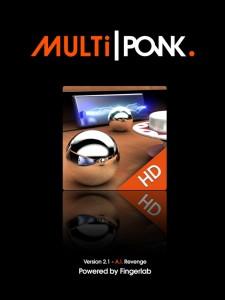 Multiponk Fingerlab appli iPad