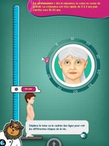 Chocolapps Explique Tom le corps humain iPad Denis Brogniart 5