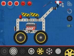 Construct a car Arsidian appli iPad La Souris Grise Enfant 2