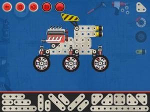 Construct a car Arsidian appli iPad La Souris Grise Enfant 3