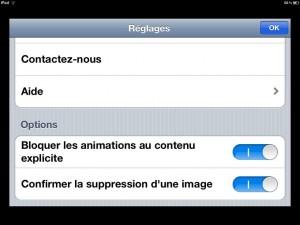 NuageTouch application iPad iPhone Dink La souris grise 5