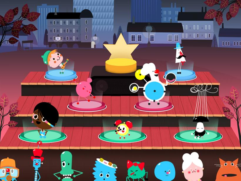 Toca Band Bonnier Toca Boca App iPhone iPad Enfant 2