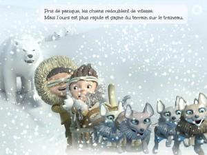 L'aventure polaire de Scott iPhone iPad Android Square Igloo La Souris Grise 2