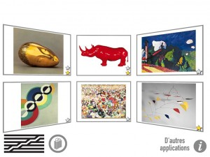 Pompidou Kids Gallimard Jeunesse application iPad Android La souris grise 1