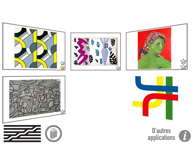 Pompidou Kids Gallimard Jeunesse application iPad Android La souris grise 2