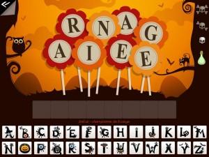 Soupe de mots des sorcières Kidschool appli iPad la souris grise 2