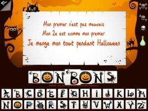 Soupe de mots des sorcières Kidschool appli iPad la souris grise 3