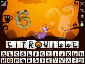 Soupe de mots des sorcières Kidschool appli iPad la souris grise 4