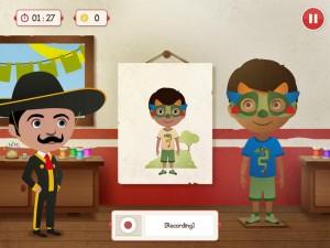 Babble Planet appli iPad anglais Swasa La Souris Grise 3