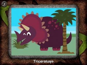 Dinosaur Wombi iPad iPhone La Souris Grise 1