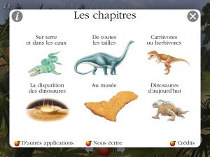 Dinosaure Gallimard Jeunesse iPad iPhone Android La Souris Grise 3