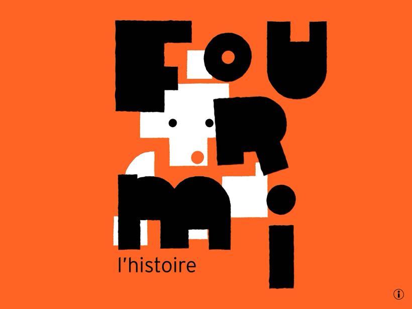 Fourmi Olivier Douzou Rouergue Opixido iPad La Souris Grise 1