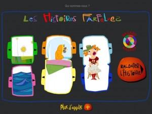 Histoires Farfelues Tralalere iPad La Souris Grise 1
