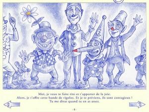 Bleu de Toi Dominique Maes Cotcotcotapps La Souris Grise 5