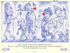 Bleu de Toi Dominique Maes Cotcotcotapps La Souris Grise 6