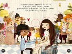 La princesse aux petits prouts  iPad Android Audois et Auteuil La Souris Grise 6