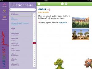 Larousse Dico Junior iPad La Souris Grise 1