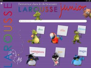 Larousse Dico Junior iPad La Souris Grise 5