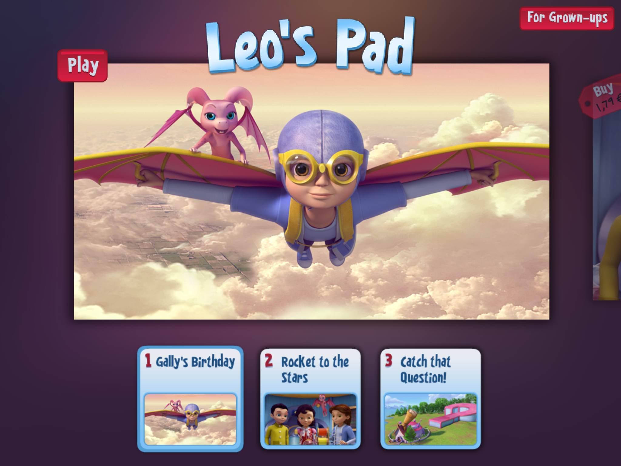 Leo's Pad Kidaptive iPad La Souris Grise 1