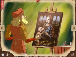 Léonard de Vinci Quelle Histoire iPhone iPad Enfants La Souris Grise 1