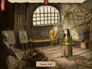 Léonard de Vinci Quelle Histoire iPhone iPad Enfants La Souris Grise 2