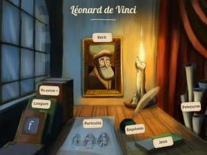 Léonard de Vinci Quelle Histoire iPhone iPad Enfants La Souris Grise 4