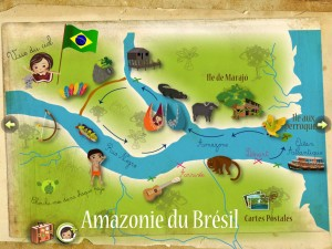 Amazonie de Lulu Zanzibook iPad iPhone Android La Souris Grise 1