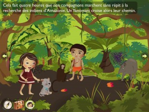 Amazonie de Lulu Zanzibook iPad iPhone Android La Souris Grise 2