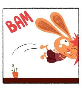 Monsieur lapin et la carotte sauvage tablette application iPhone Enfant La Souris Grise 1