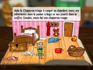 Chaperon Rouge Story Toys La Souris Grise iPad iPhone Android application Enfant tablette 1