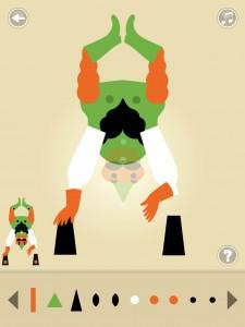 Gommette Circus application tablette iPad enfant Sarbacane La Souris Grise 3
