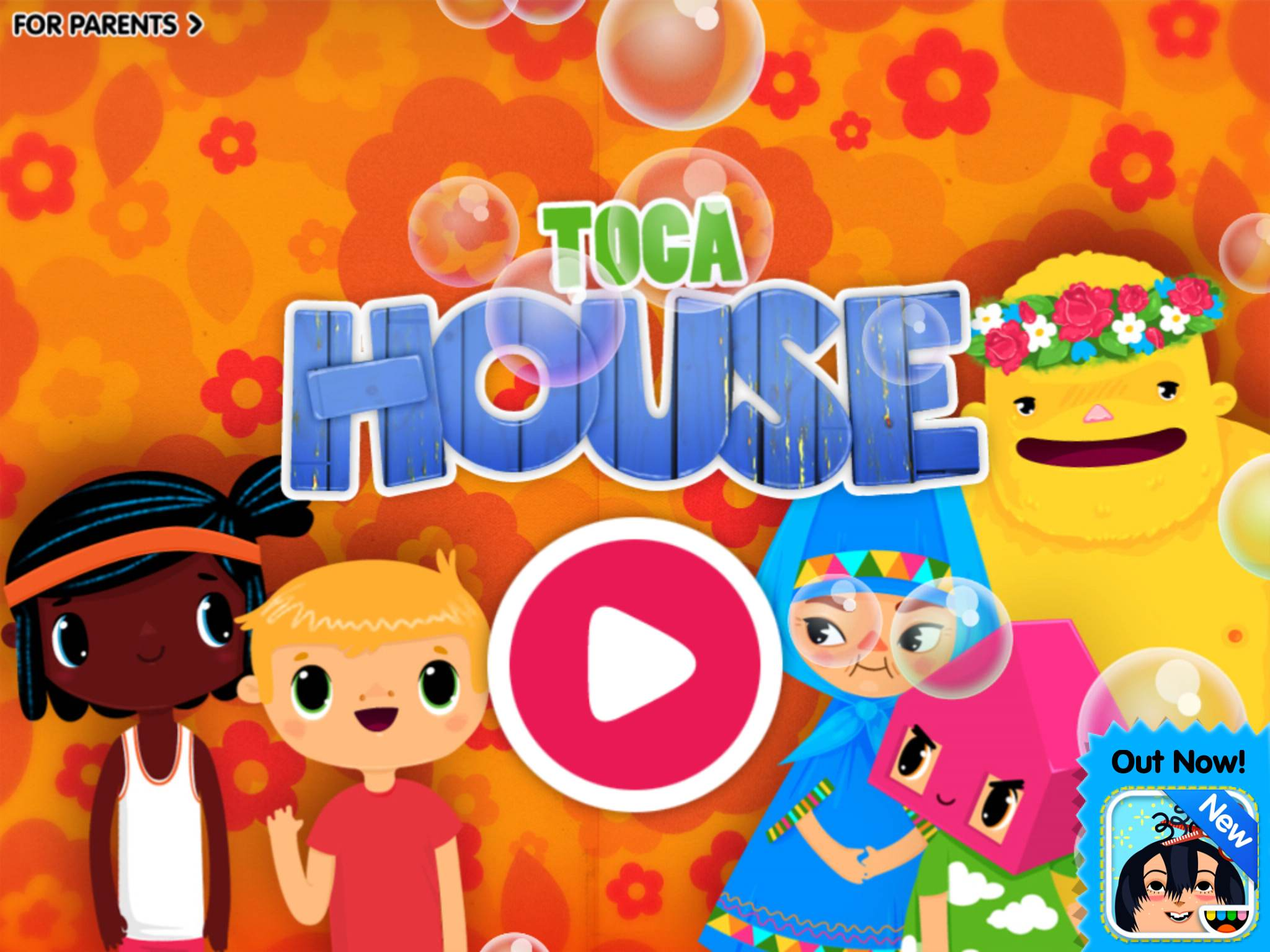Toca Boca Toca House tablette application Enfant iPhone iPad La Souris Grise 1