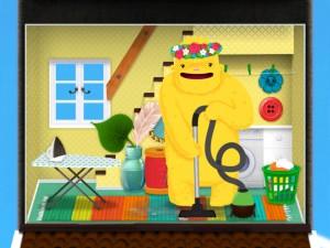 Toca Boca Toca House tablette application Enfant iPhone iPad La Souris Grise 2