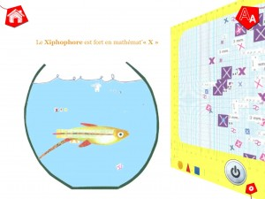 Animaux de A à Z GoodByePaper meilleure application pour enfants tablette La Souris Grise 2