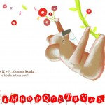 Animaux de A à Z GoodByePaper meilleure application pour enfants tablette La Souris Grise  4